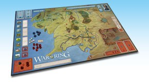 War of the Ring - Second Edition: Board