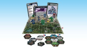 Galaxy Defenders - Starter Set: Components