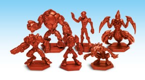 Galaxy Defenders - Elite Alien Army: Plastic Miniatures