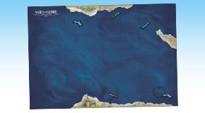 Example with one Terrain Pack: Coasts and Shoals
