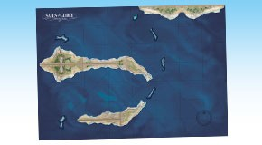 Example with two Terrain Pack: Coasts and Shoals