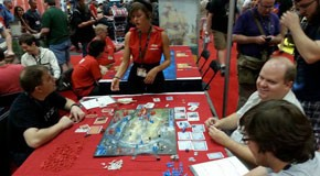 Demo at Ares Games booth – Gen Con 2014