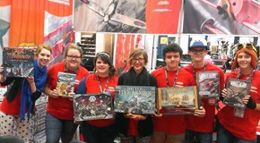Ares Games' demo crew at Gen Con Indy 2014