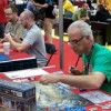 Demos at the Ares Games' booth