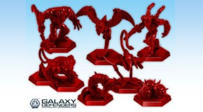 Galaxy Defenders - Elite Alien Legion: Plastic Miniatures