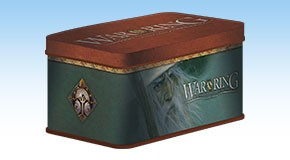 War of the Ring - Card Box and Sleeves Gandalf Version