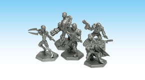 Galaxy Defenders - Starter Set: Plastic Miniatures