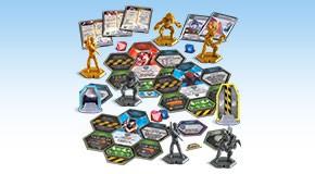 Galaxy Defenders -Final Countdown: Components