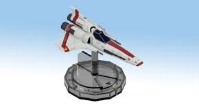 Battlestar Galactica - Starship Battles Starter Set: Viper Mk.II Apollo