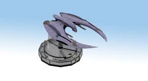 Battlestar Galactica - Starship Battles Starter Set: Cylon Raider