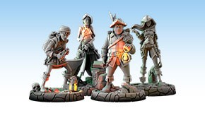Dungeonology - The Expedition Scholar Models