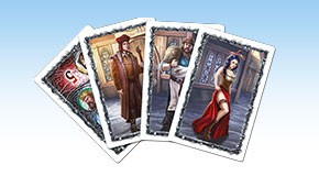 King & Assassins: Deluxe Edition - Cards