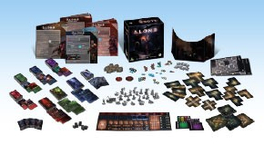Alone - Core Game - Components