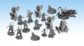 Alone - Core Game - Miniatures