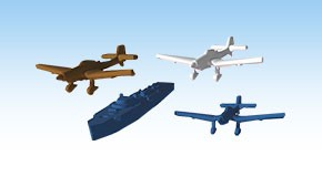 Race to Moscow - Axis Aircraft miniatures