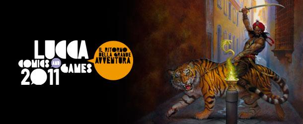 Lucca Comics & Games 2011 (banner)