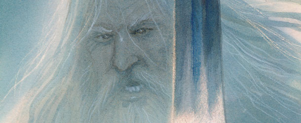Gandalf The White (banner)