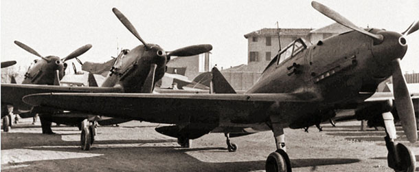Reggiane Re.2001 Falco II (banner)
