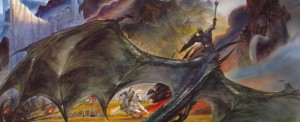 Theoden Vs Witch King (banner)