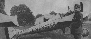 Morane-Saulnier N, Eugene Gilbert