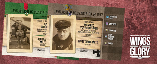 WW1 Wings of Glory - Ace Cards (banner)