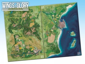 Wings of Glory Game Mats.