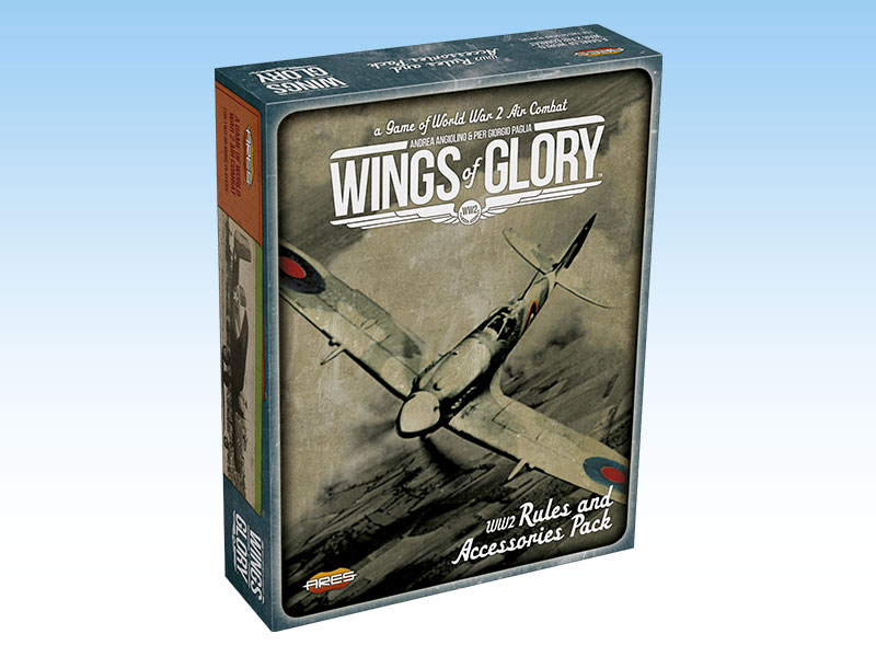 Wings of Glory: WW2 Rules and Accessories pack - Ares Games