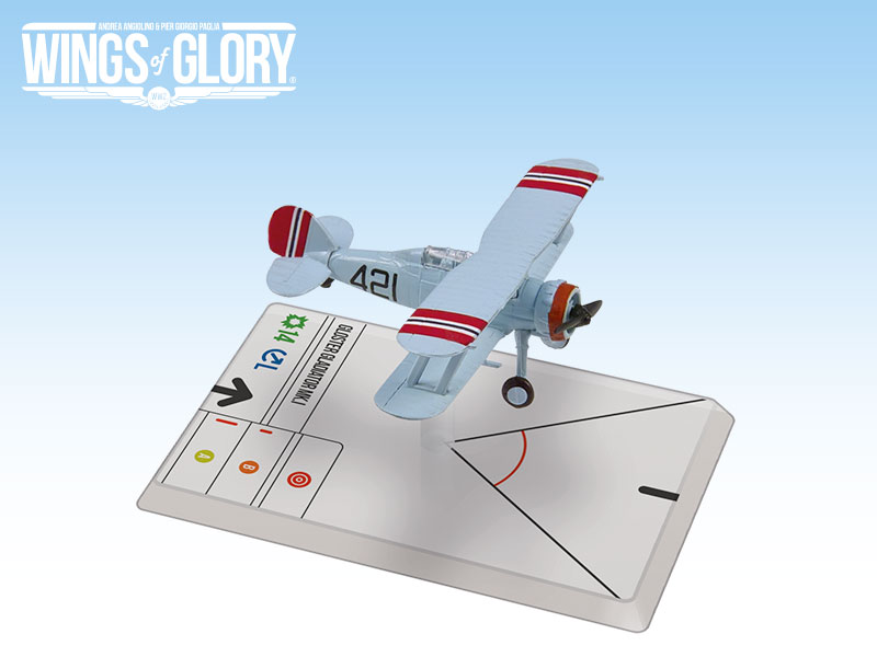 Wings of Glory: Krohn: Gloster Gladiator MK.1