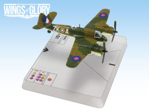 One of the Bristol Beaufighters featured in WW2 Wings of Glory Airplane Packs