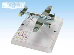One of the Messerschmitt Bf 110C featured in WW2 Wings of Glory Airplane Packs