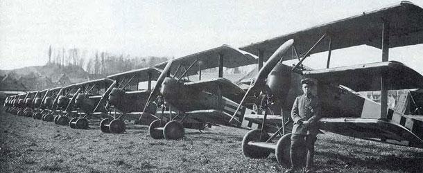 WGF Fokker Dr.I - banner