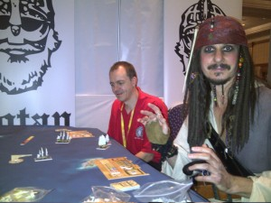 "Even the ""pirate"" Jack Sparrow stopped there to take a look at the game!"