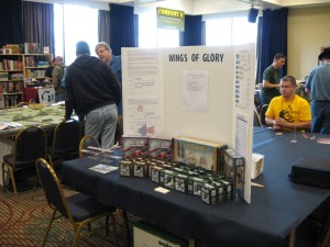 Sails of Glory and Wings of Glory games presented at Enfilade 2013