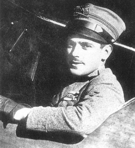 Silvio Scaroni, the second-highest scoring Italian air ace of the WW1.