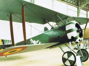 A Belgian Hanriot HD.1 survived to the fights in the sky during the World War I.