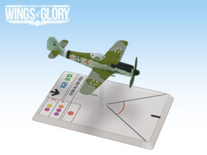 The Wings of Glory miniature of FW 190 D-9 from 7. Staffel, II. Gruppe of Jagdgeschwader 26.
