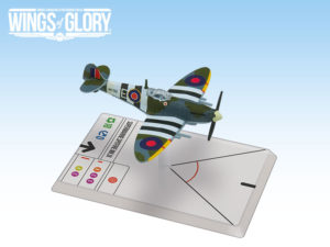 Spitfire Mk.IX, one of the WW2 Wings of Glory planes included free in-app for ePawn Arena.
