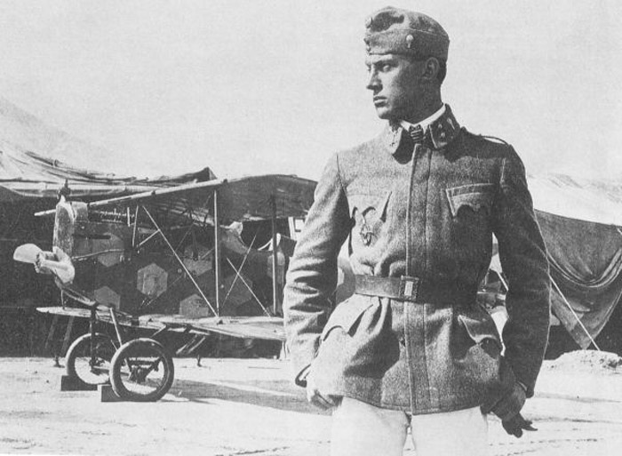 The Austro-Hungarian Ace, Frank Linke-Crawford: 27 victories.