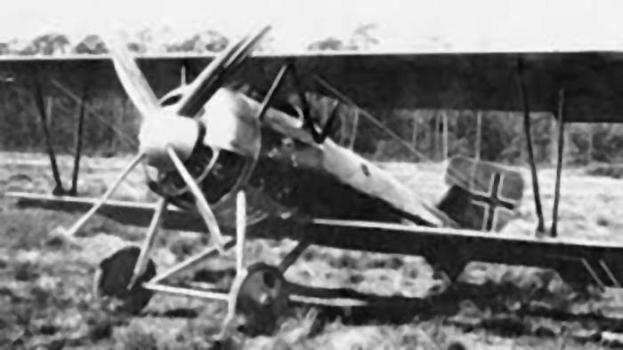 A German Siemens-Schuckert D.III ready to fly!