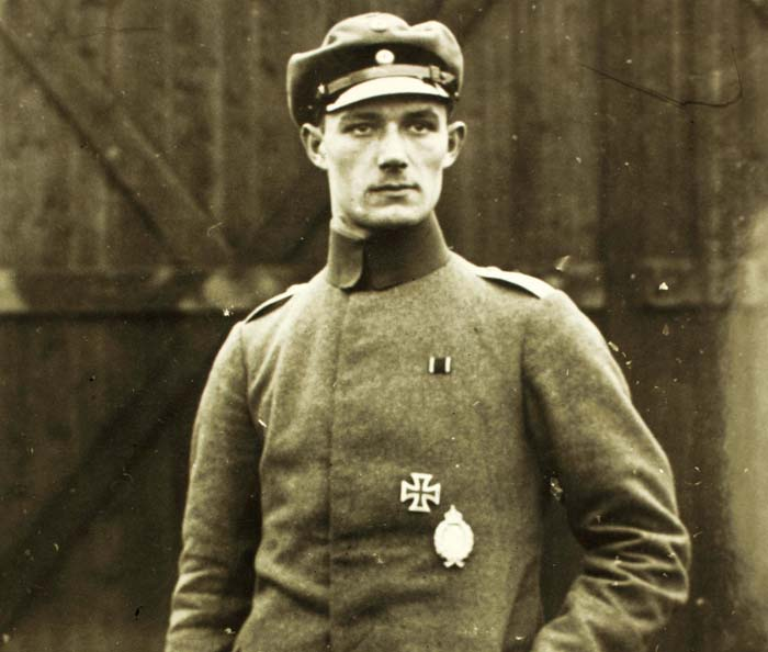 Veltjens, one of the greatest WW1 German aces.