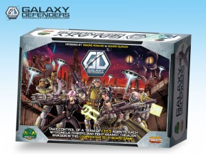 Galaxy Defenders: cooperative and tactical game for 1 to 5 players.