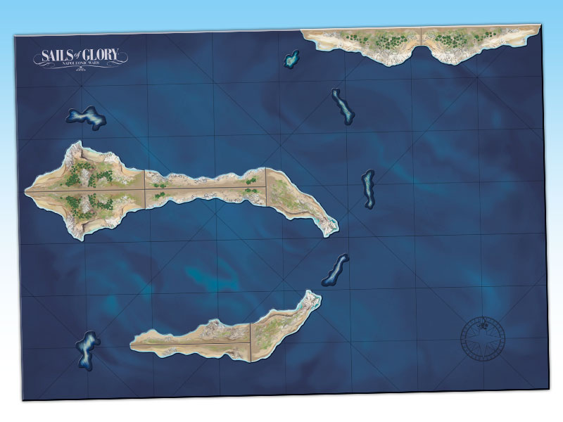 Sgn502a Terrain Pack Coasts And Shoals 171 Ares Games