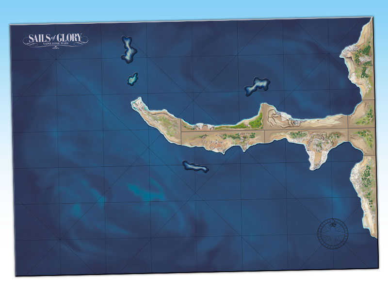 SGN503A – Terrain Pack: Coastal Batteries « Ares Games