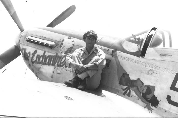 The P-51D Mustang of 506th with the famous Enchantress on the fuselage.