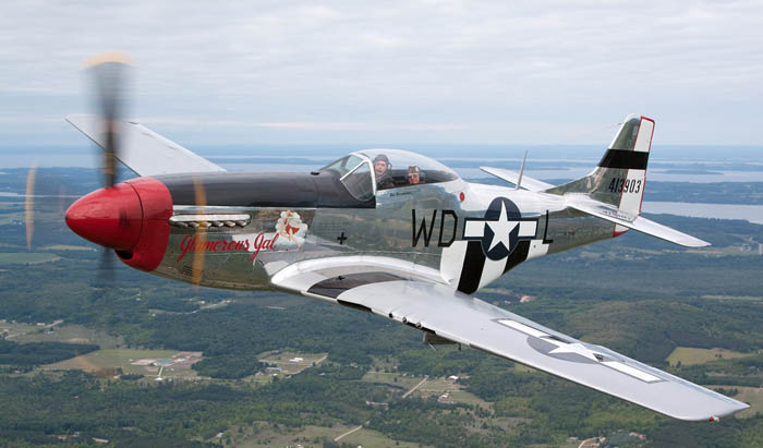 A P-51D Mustang still able to fly!