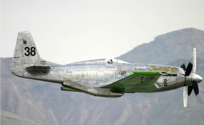 Another Mustang P-51D still able to fly.