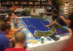 One of the Sails of Glory sessions at Hurricon 2013.