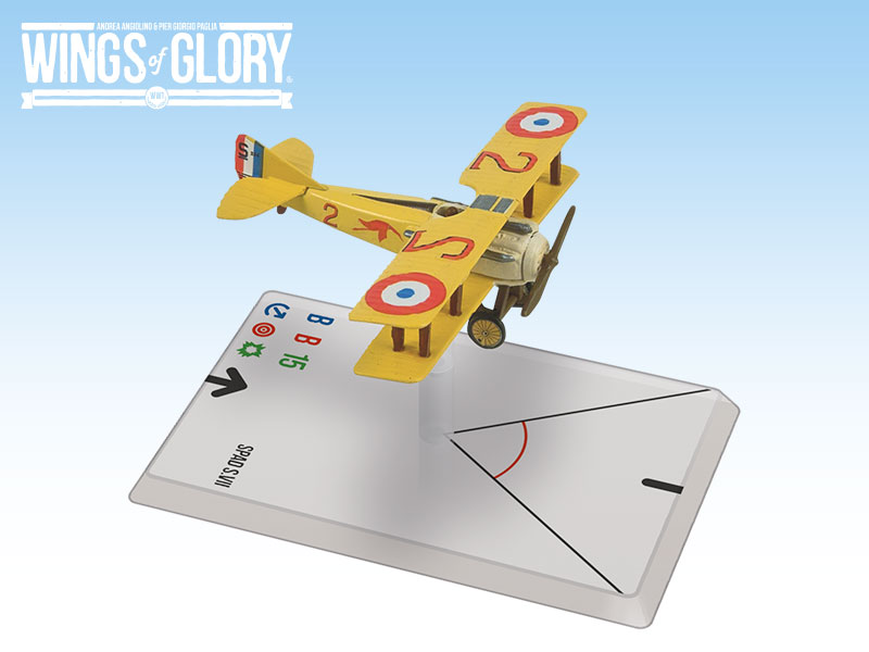 Wings of Glory: Guynemer: Spad S.VII (T.O.S.)