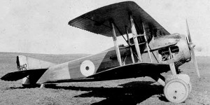 The  sturdy and rugged Spad S.VII.