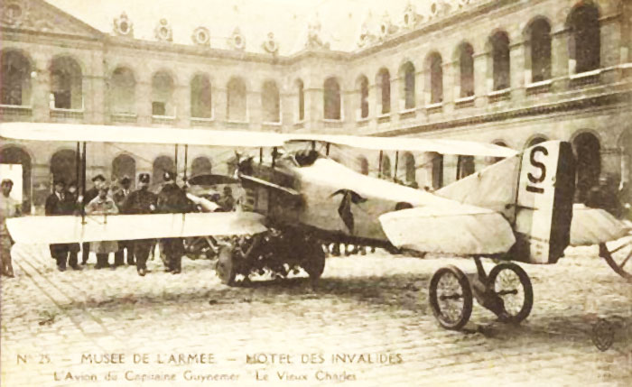 Georges Guynemer aircraft at the Museum de l'Armée.
